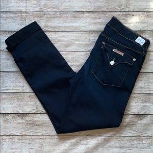 Hudson Jeans Bacara Cropped Straight Cuffed Size31